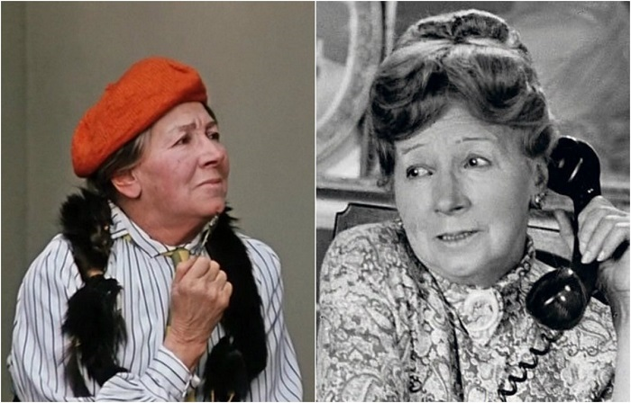Фильмография актрисы представлена в основном второстепенными ролями, но порой ее выразительные героини запоминались лучше главных персонажей.