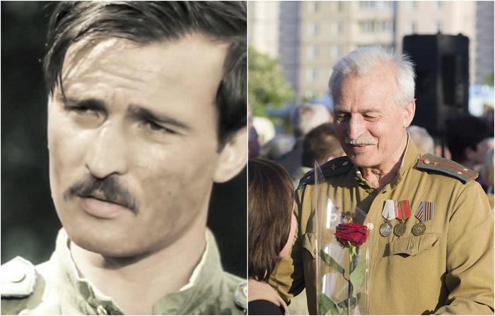 В 1973 году актера утвердили на роль Воробьева в фильме «В бой идут одни старики», который стал знаковым в жизни артиста.