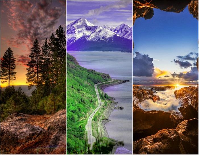 Самые чудесные места со всего мира, которые можно посетить во время отпуска.