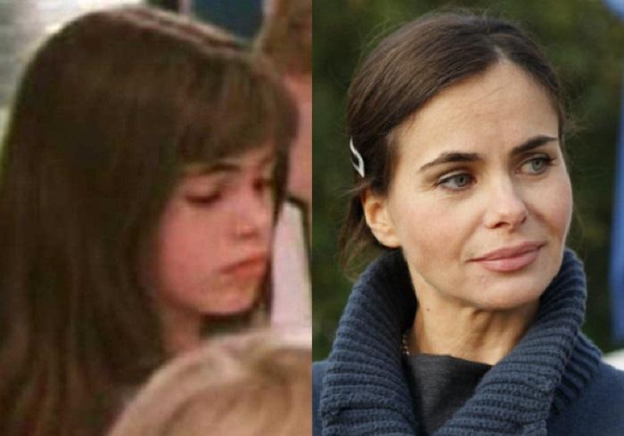 Российская актриса, фотомодель и филантроп, сыгравшая роль школьницы из Космопорта в фильме «Гостья из будущего».