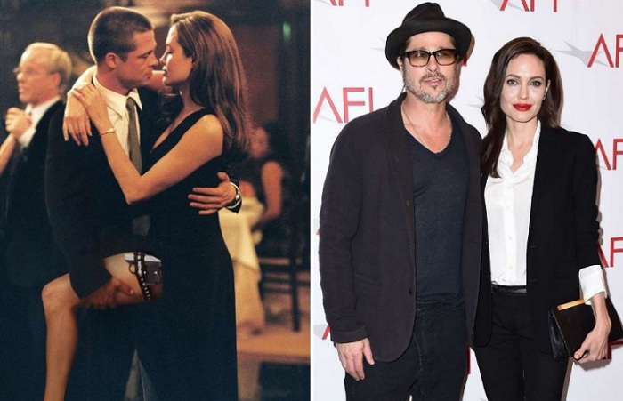 Самая знаменитая звездная пара в Голливуде познакомилась на съемочной площадке фильма «Мистер и миссис Смит».
