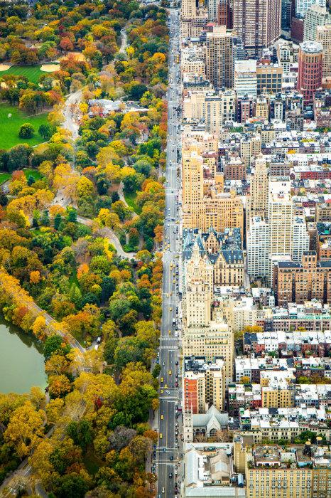 Вся красота полёта над огромным городом. Автор фотографии: Кэтлин Долматч (Kathleen Dolmatch).