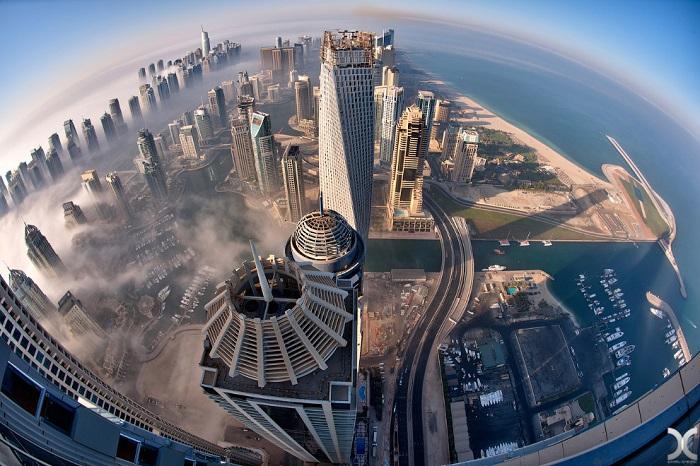 Фотографии из высоких строений в мире.
