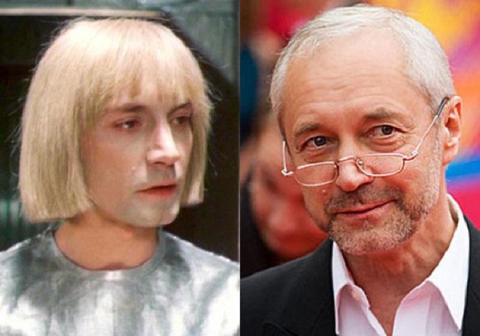 Советский и российский актёр, сыграл Робота Вертера в фильме «Гостья из будущего».