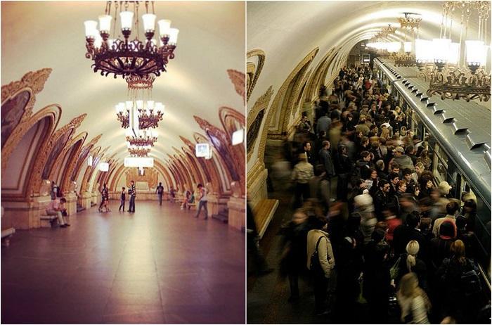 Станция Кольцевой линии Московского метрополитена.