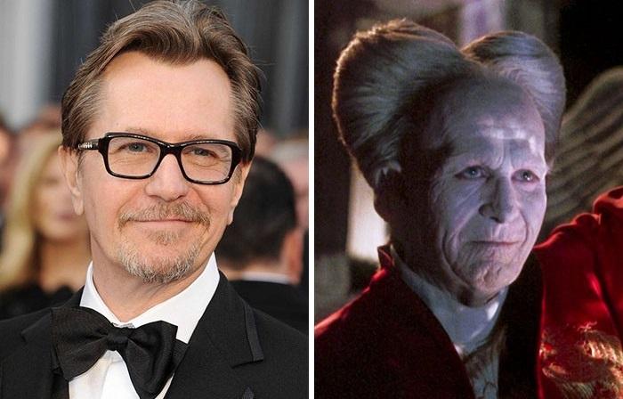Британский актер полностью изменил свой внешний вид для роли графа Дракулы в одноименном фильме.