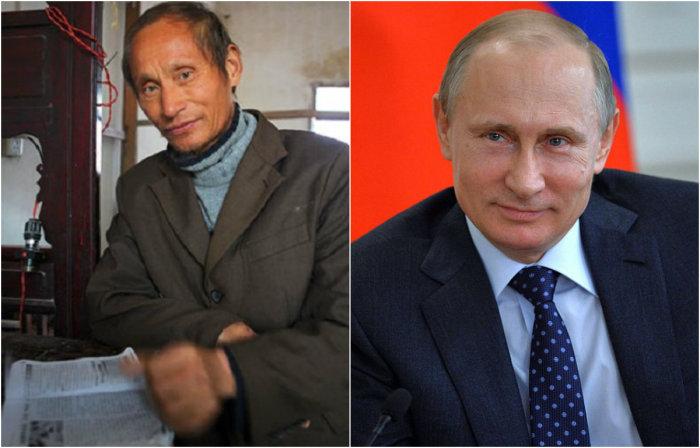 Китайский двойник российского президента.