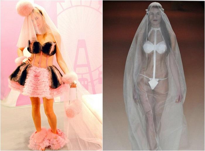 Свадебные платья, которыми можно отпугнуть жениха.
