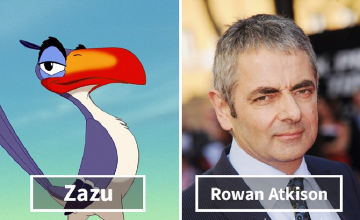 Зазу - Роуэн Аткисон (Rowan Atkinson).
