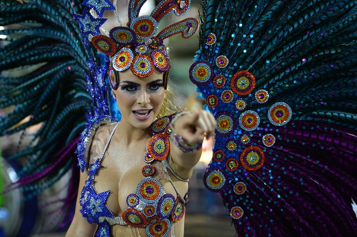 Самые сексуальные женщины в Бразилии.