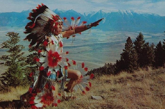 Индейская молитва — это не слова, а звуки.
