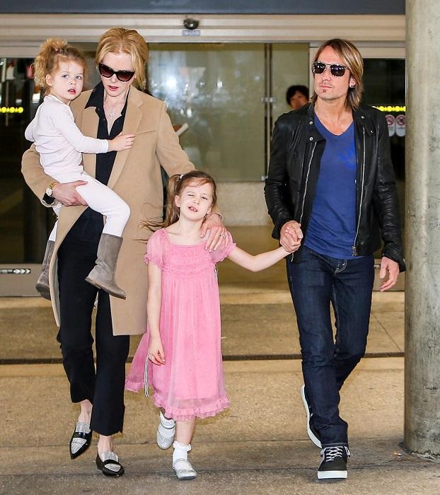 Первого биологического ребенка, дочь Сандэй Роуз, актриса родила в 40 лет. /Фото: hawtcelebs.com
