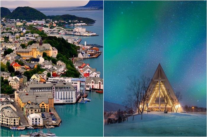 Достопримечательности Норвегии.