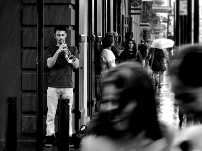Грустная музыка дождливым днем. Фотограф - Quentin Loyez.
