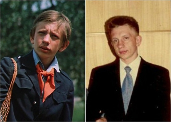 Московский школьник Алексей Фомкин, сыгравший Колю Герасимова, из-за которого в итоге и перенеслась во времени Алиса Селезнева, ни актером, ни поэтом в жизни так и не стал.