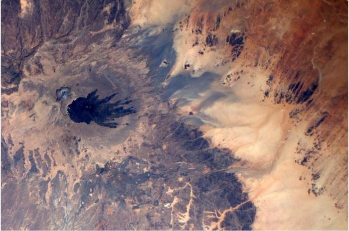 Уникальный снимок поверхности земли со спутника.
