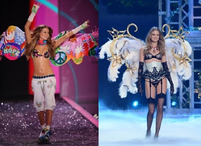 Успешные, уверенные в себе и сексапильные ангелы Victorias Secret тогда и сейчас.