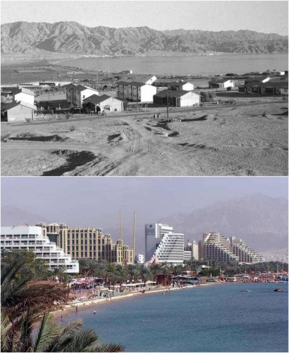 Израильский курорт на Красном море.
