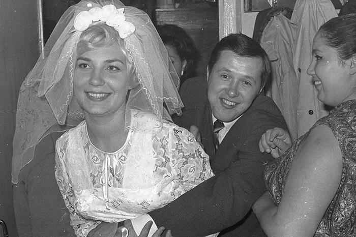 Свадьба в СССР.
