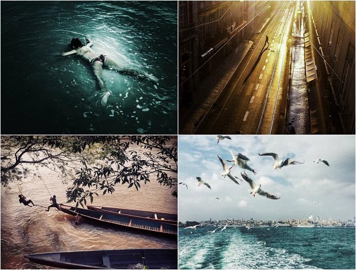 Шорт-лист из 20 лучших снимков в новой номинации - мобильная фотография.