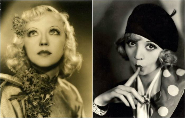 Портреты голливудских красавиц 1930-х годов.