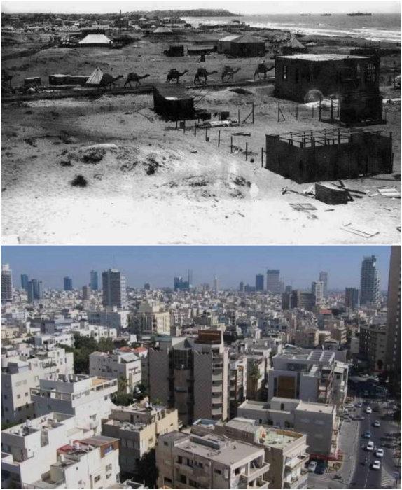 Тель-Авив – экономическая столица Израиля, второй по величине город страны.