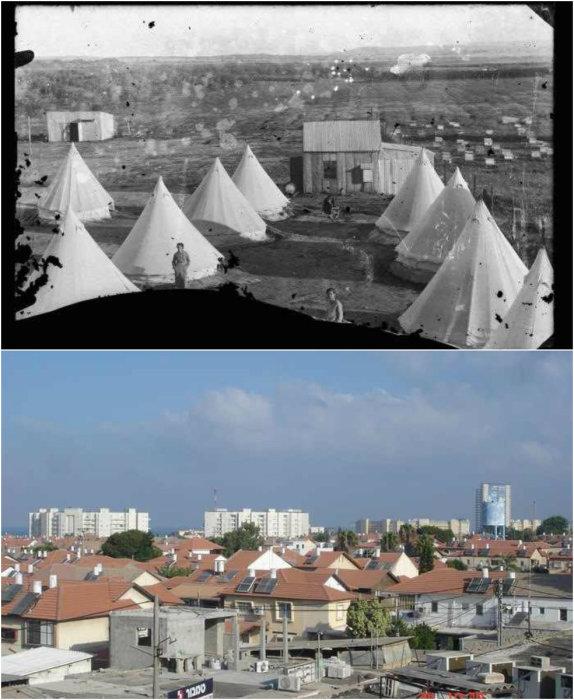 Хадера - городе неподалёку от средиземноморского побережья.