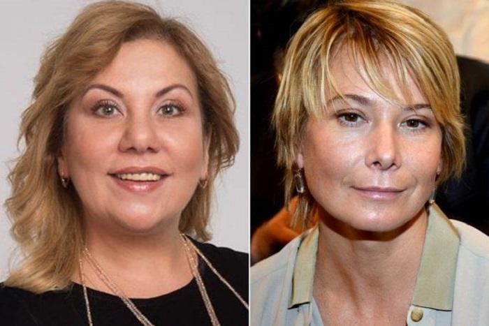 Кто выглядит лучше - звезда в теле или ее стройная коллега?