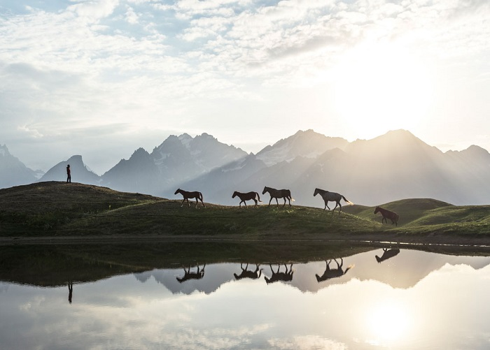 Автор фотографии «Восход солнца» - Витольд Зиомек (Witold Ziomek).
