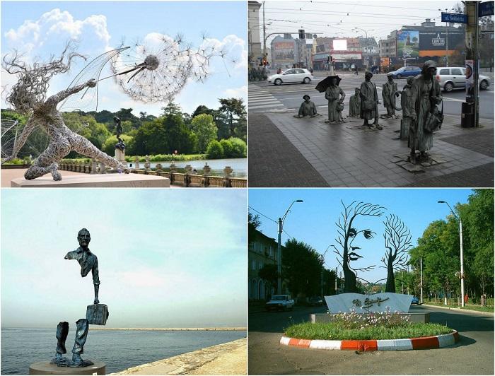 Необычные статуи и скульптуры со всего мира.