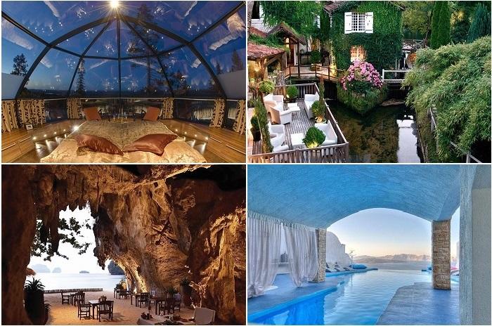 Удивительные отели мира.