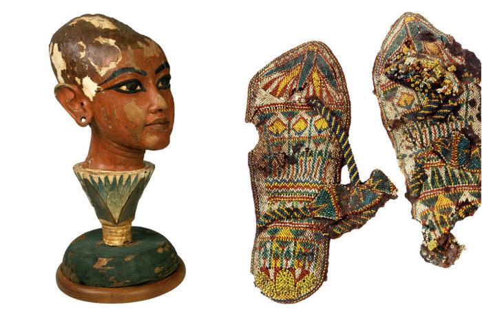 Сокровища гробницы Тутанхамона.