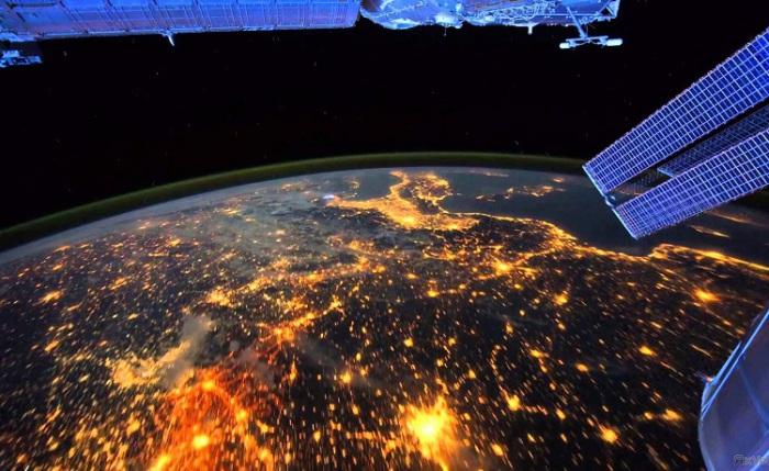Ночные огни Земли. | Фото: fototelegraf.ru.