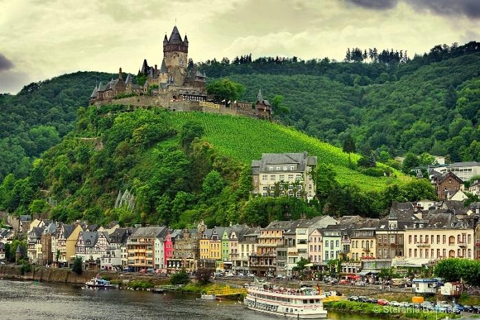 Один из самых маленьких городов Германии.