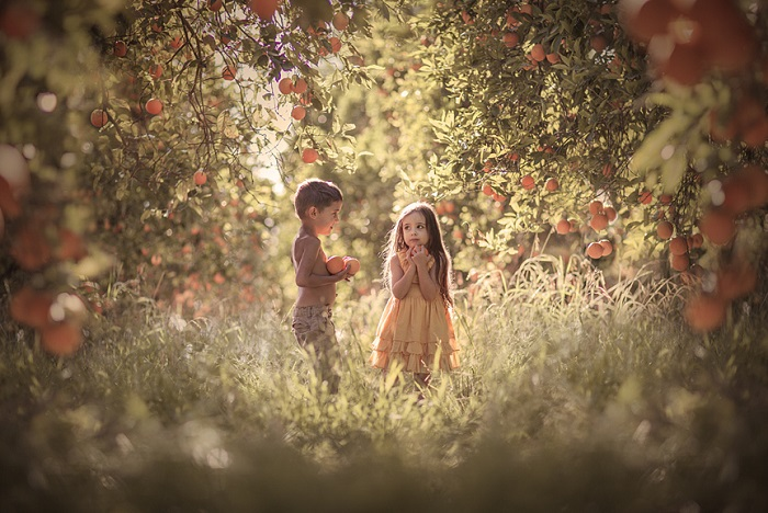 Детская дружба. Автор фотографии: Елена Шумилова (Elena Shumilova).