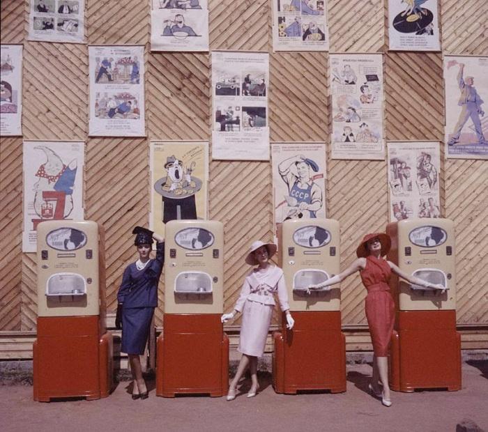 Первый показ мод из капиталистической страны в СССР.