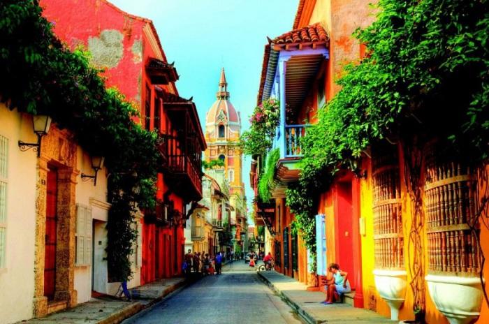 Самый крупный портовый город на севере Колумбии.