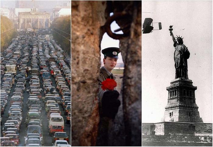 Редкие снимки знаковых событий в истории человечества.