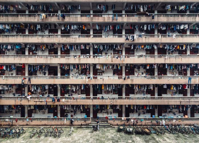 Китайское общежитие-вот где весело жить. Автор фотографии: Винг Ка H (Wing Ka H.).