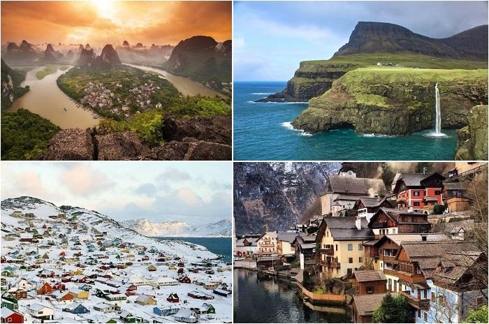 Самые красивые маленькие города.