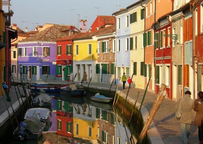 Островной квартал Венеции.