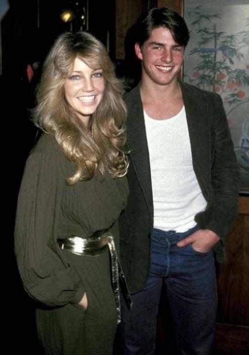 На заре актерской карьеры у будущих звезд были недолгие романтические отношения, США, 1982 год.