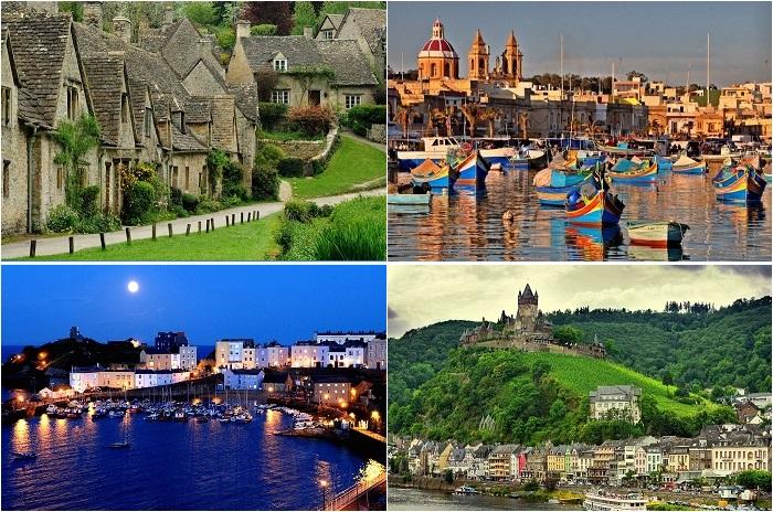 Самые маленькие города Европы.