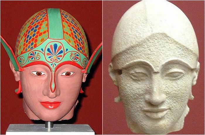Богиня, которая поклонялись в одном месте на острове Эгина.