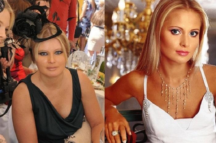 Российская телеведущая и светская львица Дана, хорошеет прямо на глазах.