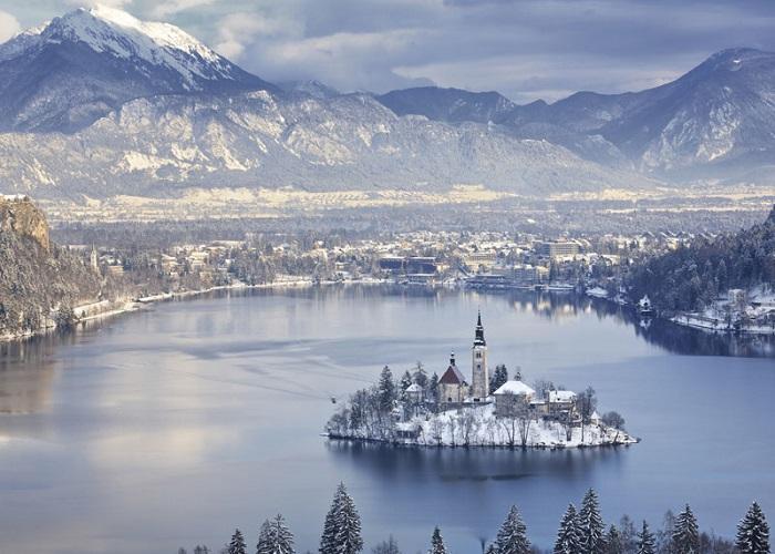 В зимний период Блед – место активного зимнего отдыха.
