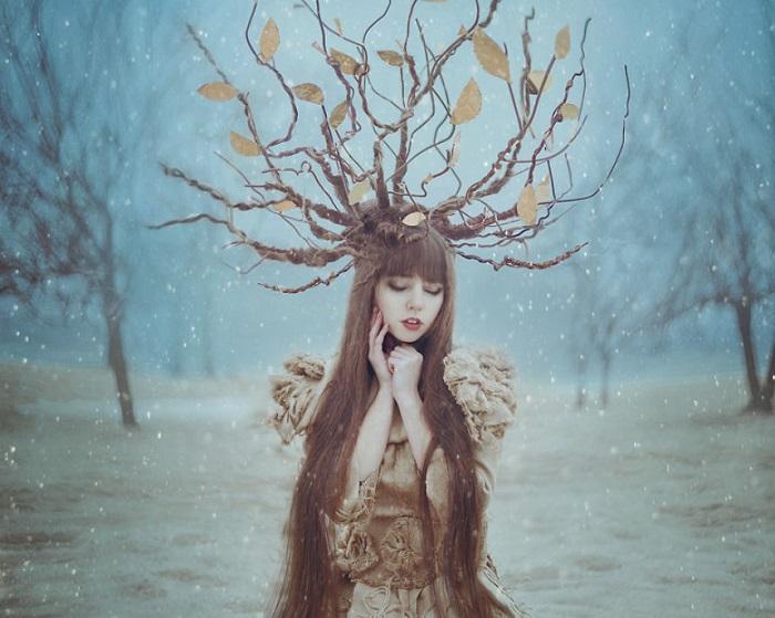 Загадочная осень. Фотография украинского фотографа Анны Стоян.