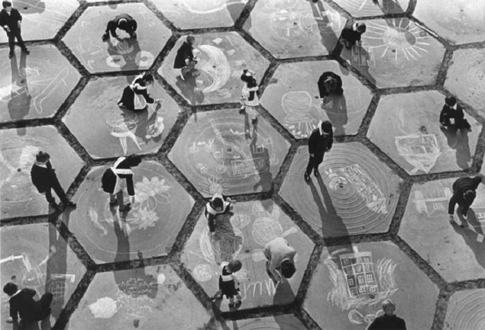 Полёт детской фантазии, 1960 год. Фотограф Анатолий Хрупов.