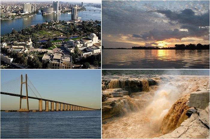 Самые длинные реки мира.