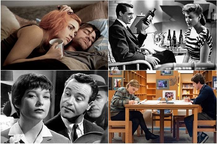 Самые романтические фильмы за всю историю кинематографа.
